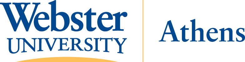 Webster University Athens Logo